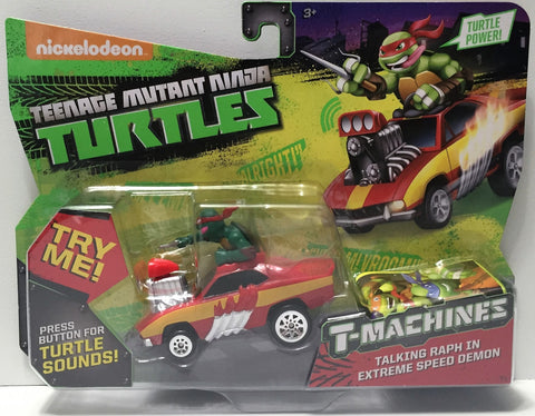 (TAS034456) - 2015 Viacom Teenage Mutant Ninja Turtles T-Machines - Talking Raph, , Action Figure, TMNT, The Angry Spider Vintage Toys & Collectibles Store  - 1