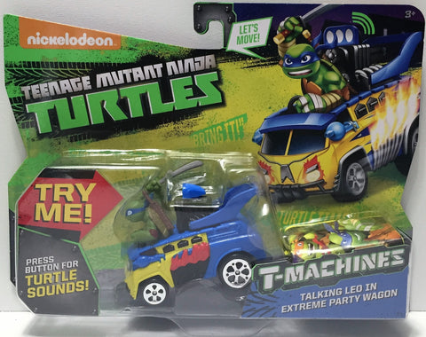 (TAS034454) - 2015 Viacom Teenage Mutant Ninja Turtles T-Machines - Talking Leo, , Action Figure, TMNT, The Angry Spider Vintage Toys & Collectibles Store  - 1
