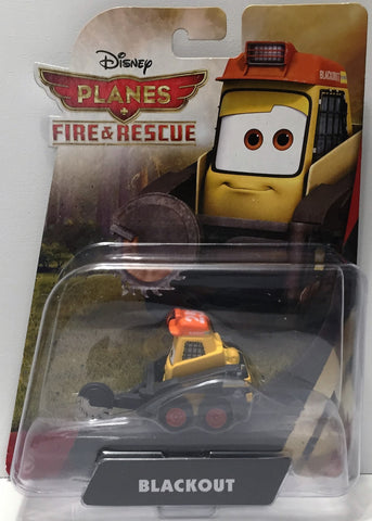 (TAS034447) - 2014 Mattel Disney Planes Fire & Rescue Action Figure - Blackout, , Action Figure, Disney, The Angry Spider Vintage Toys & Collectibles Store  - 1