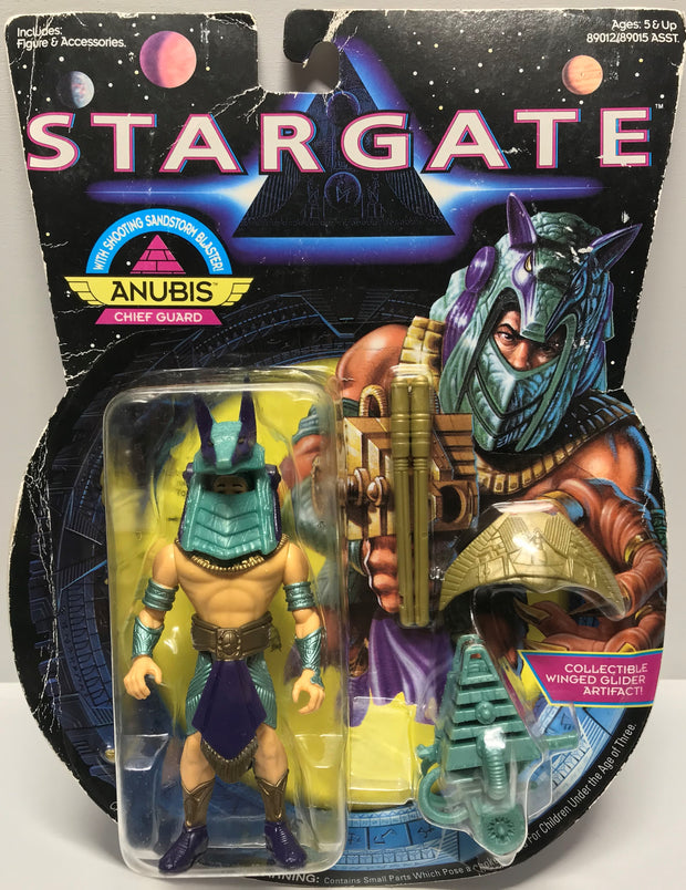 TAS027010 - 1994 Hasbro StarGate Anubis Chief Guard Action Figure