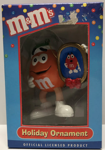 TAS027013 - Kurt S. Adler Santa's World M&M Christmas Ornament
