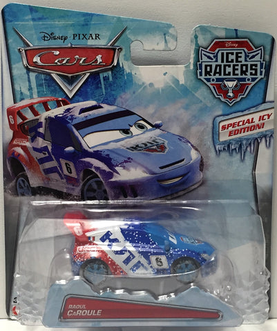 (TAS034449) - 2014 Mattel Disney Pixar Cars Ice Racers - Raoul CaRoule, , Action Figure, Disney, The Angry Spider Vintage Toys & Collectibles Store  - 1