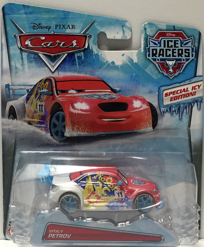 (TAS034448) - 2014 Mattel Disney Pixar Cars Ice Racers - Vitaly Petrov, , Action Figure, Disney, The Angry Spider Vintage Toys & Collectibles Store  - 1