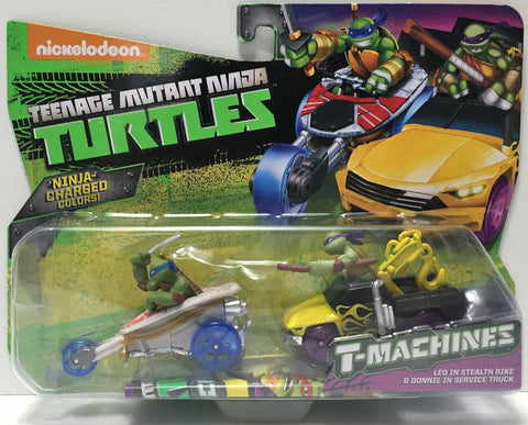 (TAS034457) - 2015 Viacom Teenage Mutant Ninja Turtles T-Machines - Leo Stealth, , Action Figure, TMNT, The Angry Spider Vintage Toys & Collectibles Store  - 1