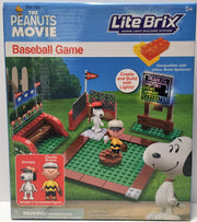 (TAS034451) - 2015 Peanuts Lite Brix Super Light Building System - Baseball Game, , Game, Peanuts, The Angry Spider Vintage Toys & Collectibles Store  - 1