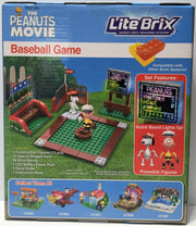 (TAS034451) - 2015 Peanuts Lite Brix Super Light Building System - Baseball Game, , Game, Peanuts, The Angry Spider Vintage Toys & Collectibles Store  - 2
