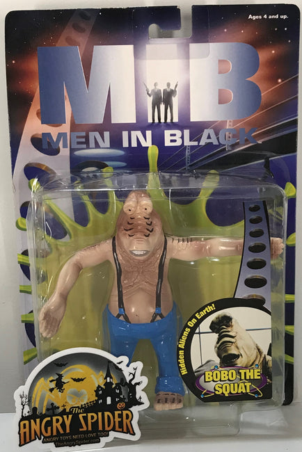 TAS040910 - 1997 Galoob MIB Men In Black Action Figure - BoBo The Squat