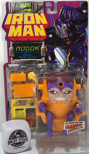 TAS040913 - 1995 Toy Biz Marvel Iron Man Action Figure - Modok Energy Brain