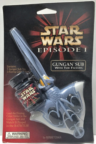 (TAS034314) - Lucasfilm Star Wars Episode I Gungan Sub with Tub Fizzers, , Action Figure, Star Wars, The Angry Spider Vintage Toys & Collectibles Store  - 1