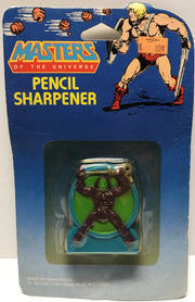 TAS028018 - 1984 Mattel Masters Of The Universe Pencil Sharpener - Skeletor