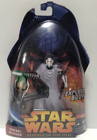 (TAS034313) - 2005 Lucasfilm Star Wars Revenge of the Sith - General Grievous, , Action Figure, Star Wars, The Angry Spider Vintage Toys & Collectibles Store  - 1