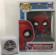 TAS040921 - 2017 Funko Pop! Marvel Spider-Man Homemade Suit Bobble-Head 222