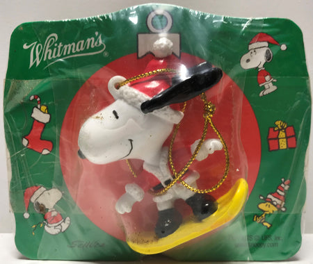 TAS028022 - Vintage Whitman's Peanuts Snoopy Christmas Ornament