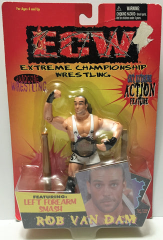(TAS034315) - 1999 Toymakers ECW Extreme Championship Wrestling - Rob Van Dam, , Action Figure, Wrestling, The Angry Spider Vintage Toys & Collectibles Store  - 1
