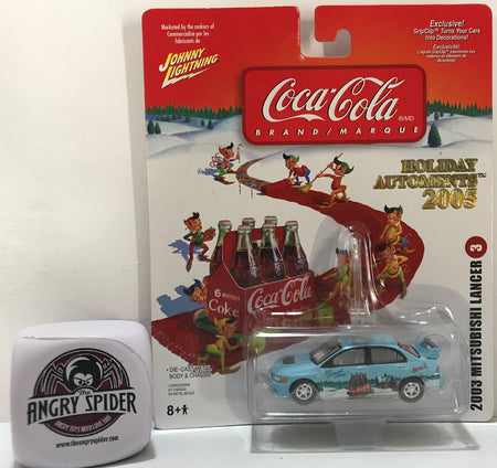 TAS040925 - 2005 Johnny Lightning Coca-Cola 2003 Mitsubishi Langer 3 Ornament
