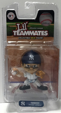 (TAS034323) - MLB Collectible MLB Baseball Lil' Teammates Figure Yankees Pitcher, , Action Figure, MLB, The Angry Spider Vintage Toys & Collectibles Store  - 1
