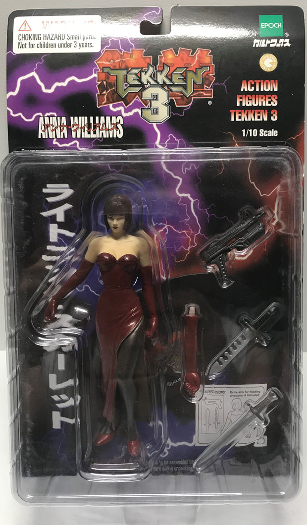 Tas037771 1998 Namco Tekken 3 Action Figure Anna Williams The Angry Spider Vintage Toys Collectibles Store