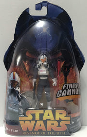 (TAS034324) - 2005 Lucasfilm Star Wars Revenge of the Sith - Clone Pilot, , Action Figure, Star Wars, The Angry Spider Vintage Toys & Collectibles Store  - 1