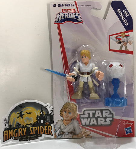 TAS040929 - 2016 Hasbro Disney Star Wars Galactic Heroes - Luke Skywalker