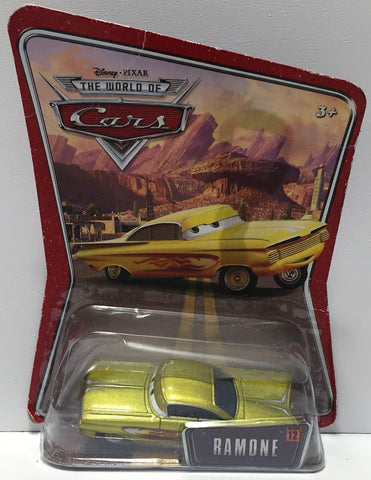 (TAS034322) - Mattel Disney Pixar The World of Cars Figure - Ramone, , Trucks & Cars, Disney, The Angry Spider Vintage Toys & Collectibles Store  - 1