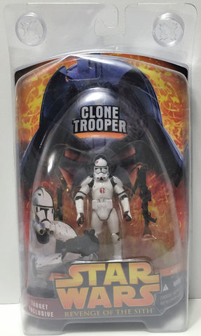 (TAS034333) - 2005 Lucasfilm Star Wars Revenge of the Sith- Clone Trooper, , Action Figure, Star Wars, The Angry Spider Vintage Toys & Collectibles Store  - 1