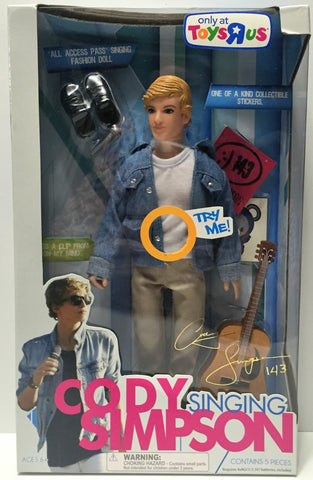 (TAS034335) - 2011 EMI April Music Exclusive Cody Simpson Singing Doll, , Dolls, EMI, The Angry Spider Vintage Toys & Collectibles Store  - 1