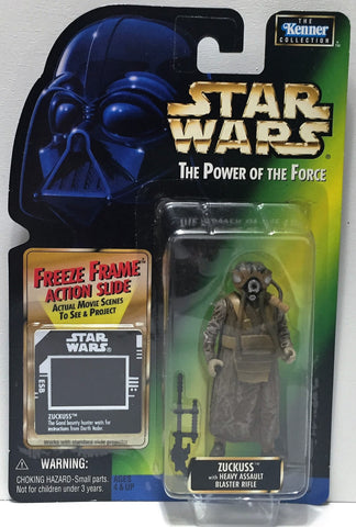 (TAS034347) - 1997 Hasbro Star Wars The Power of the Jedi Figure - Zuckuss, , Action Figure, Star Wars, The Angry Spider Vintage Toys & Collectibles Store  - 1