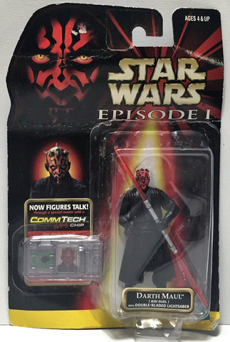 (TAS034348) - 1998 Hasbro Star Wars Episode I Action Figure - Darth Maul, , Action Figure, Star Wars, The Angry Spider Vintage Toys & Collectibles Store  - 1