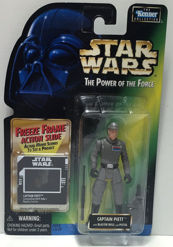 (TAS034346) - 1997 Hasbro Star Wars The Power of the Jedi - Captain Piett, , Action Figure, Star Wars, The Angry Spider Vintage Toys & Collectibles Store  - 1