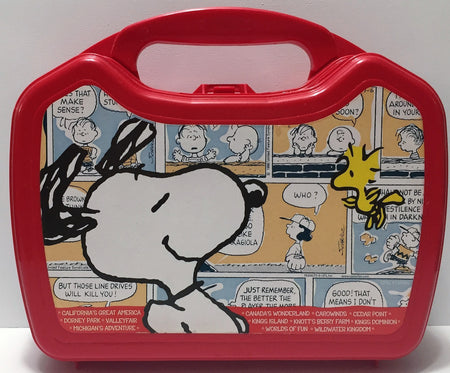 (TAS034349) - Whirley Collectible The Peanuts Snoopy Lunch Box, , Lunchbox, Peanuts, The Angry Spider Vintage Toys & Collectibles Store  - 1