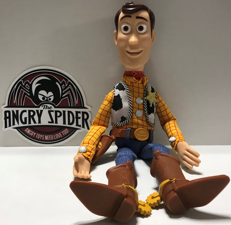 TAS040094 - Disney The Toy Story Plush Windup Action Figure - Woody