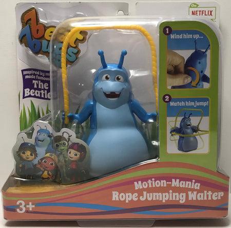 TAS040096 - 2017 Blip Toys Beat Bugs Motion-Mania Rope Jumping Walter