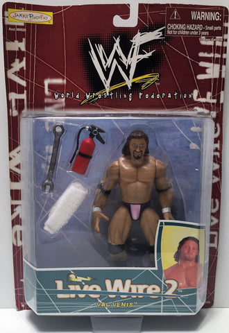 (TAS034429) - 1998 Jakks WWF Wrestling Live Wire 2 Action Figure - Val Venis, , Action Figure, Wrestling, The Angry Spider Vintage Toys & Collectibles Store  - 1