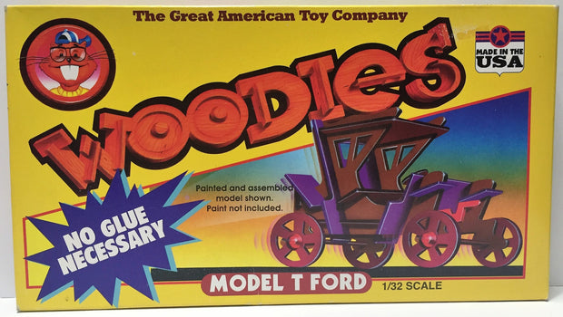 (TAS034430) - Great American Toy Company Woodies Model T Ford Assembly Kit, , Trucks & Cars, n/a, The Angry Spider Vintage Toys & Collectibles Store  - 1