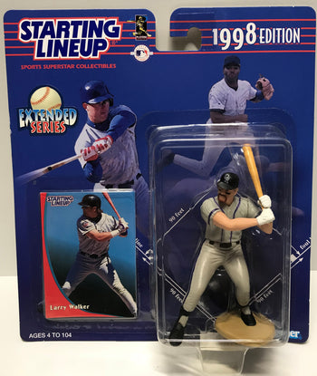 TAS011232 - 1997 Kenner Starting Lineup MLB Larry Walker