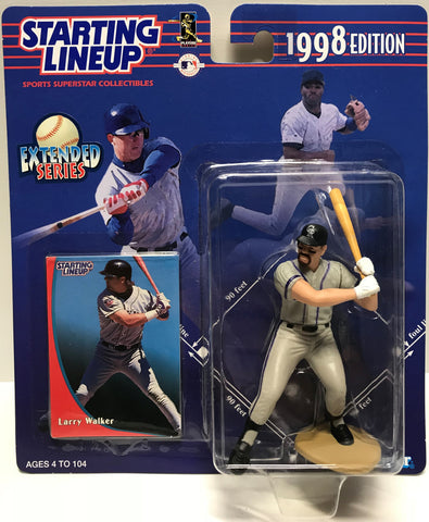 TAS011235 - 1997 Hasbro Starting Lineup MLB Larry Walker