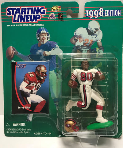 TAS011236 - 1998 Kenner Starting Lineup NFL Jerry Rice