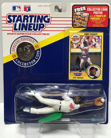 TAS011238 - 1991 Kenner Starting Lineup MLB Kirby Puckett