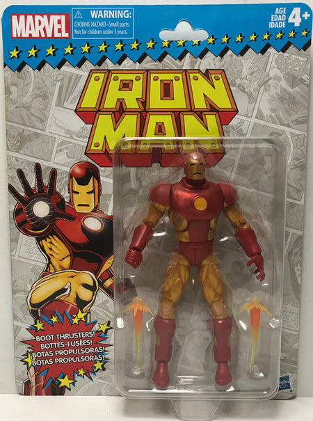 TAS040109 - 2017 Hasbro Marvel Action Figure - Boot thrusters! Iron Man
