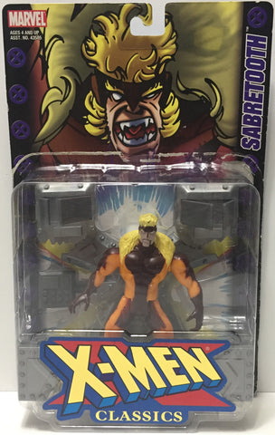 (TAS034440) - 2000 Toy Biz Marvel Collectible X-Men Action Figure - Sabretooth, , Action Figure, X-Men, The Angry Spider Vintage Toys & Collectibles Store  - 1
