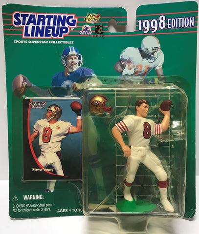 TAS037686 - 1998 Kenner Starting Lineup NFL Steve Young