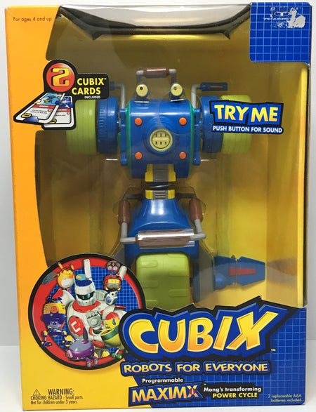 TAS040131 - 2001 Trendmasters Cubix Robots For Everyone Programmable Maximx