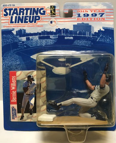 TAS037689 - 1996 Hasbro Starting Lineup MLB Bernie Williams
