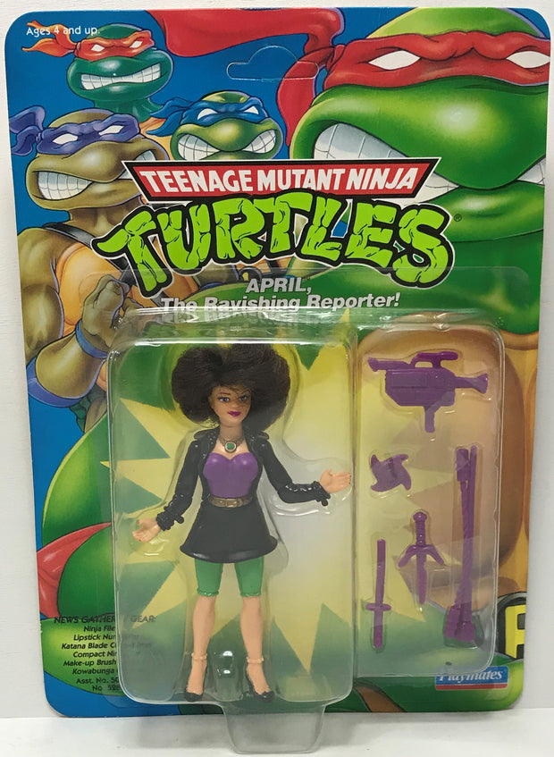 TAS040133 - 1992 Playmates Toys Teenage Mutant Ninja Turtles - April O'Neil