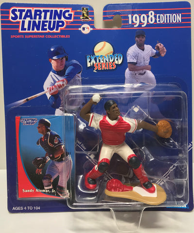 TAS037693 - 1997 Kenner Starting Lineup MLB Sandy Alomar, Jr.