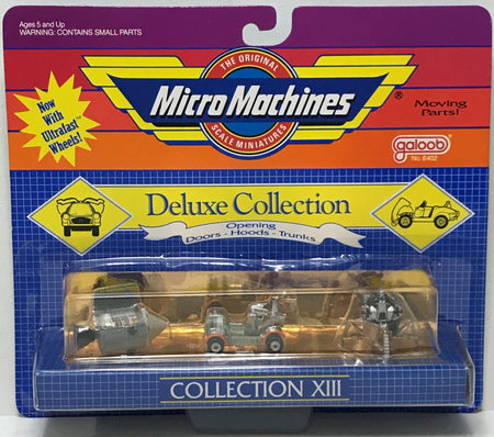 TAS040142 - 1989 Galoob Micro Machines Deluxe Die-Cast Cars - Collection XIII