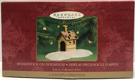 TAS011311 - 2000 Hallmark Keepsake Christmas Ornament Snoopy Woodstock