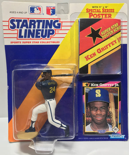 TAS011332 - 1991 Kenner Starting Lineup MLB Ken Griffey, Jr.