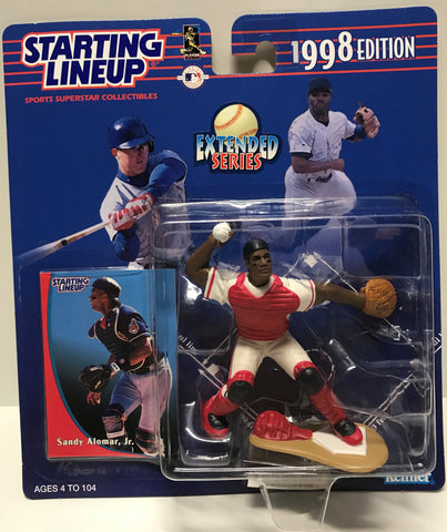 TAS011334 - 1997 Kenner Starting Lineup MLB Sandy Alomar, Jr.