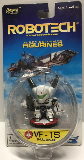 TAS009831 - 2001 RoboTech Super Deformed Figurines VF-1S Skull Leader